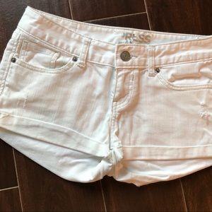 Express White Shorts - Size: 2